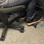 When Purchasing an Under-Desk Foot rest, keep these following in mind
